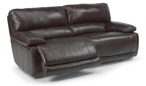 Image of Hermosa Leather Power Reclining Sofa