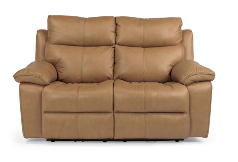 Flexsteel - Julio Leather Power Reclining Loveseat - 1320-60P