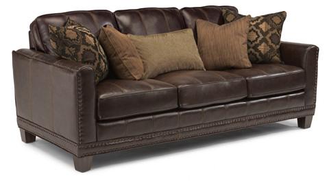 Flexsteel - Port Royal Leather Sofa - 1373-31