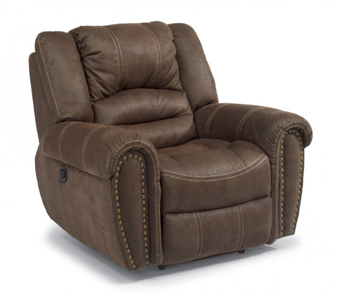 Flexsteel - New Town Fabric Power Recliner - 1410-50P