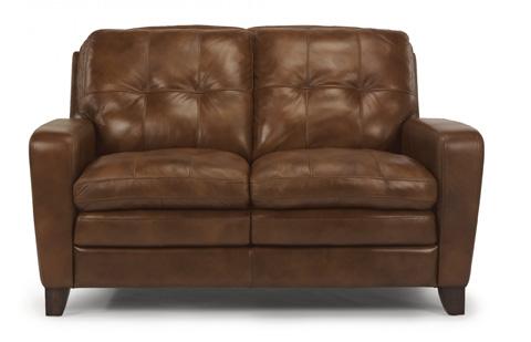 Flexsteel - South Street Leather Loveseat - 1644-20