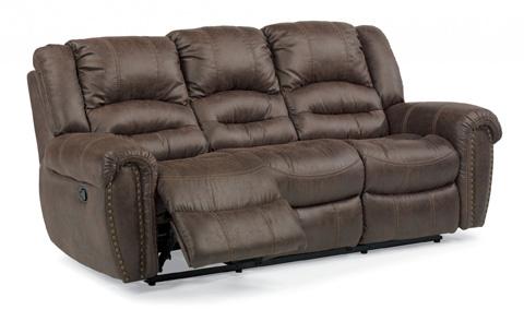 Flexsteel - Downtown Double Reclining Sofa - 1710-62