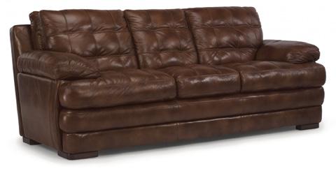 Flexsteel - Jacob Leather Sofa - 1727-31