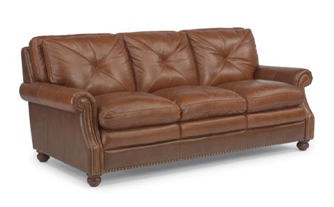 Flexsteel - Suffolk Leather Sofa - 1741-31