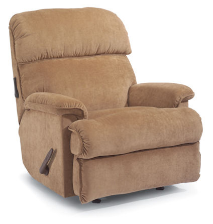 Flexsteel - Geneva Fabric Handle-Activated Recliner - 2214-500