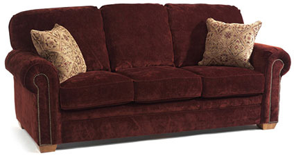 Flexsteel - Harrison Fabric Sofa with Nails - 7270-31