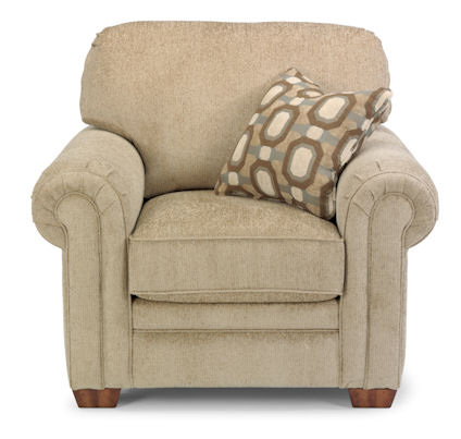 Flexsteel - Harrison Fabric Chair without Nails - 7271-10