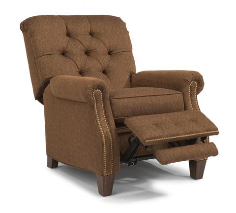Flexsteel - Champion Fabric High Leg Recliner - 7386-503