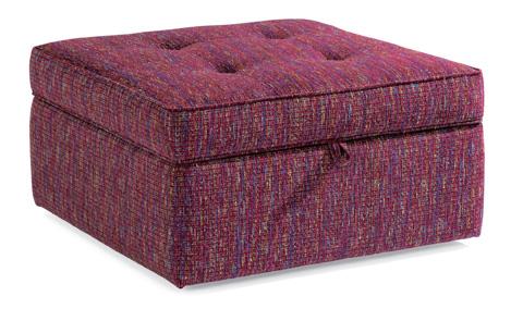 Flexsteel - Daphne Fabric Square Storage Ottoman - 7408-092S