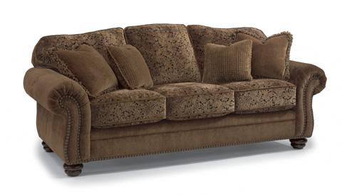 Flexsteel - Bexley Melange Sofa with Nails - 8649-31