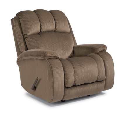 Flexsteel - Huron Fabric Rocking Recliner - 4841-51