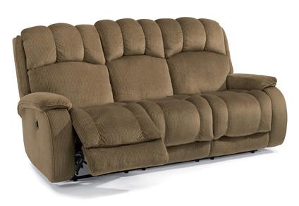 Flexsteel - Huron Fabric Power Reclining Sofa - 4841-62M