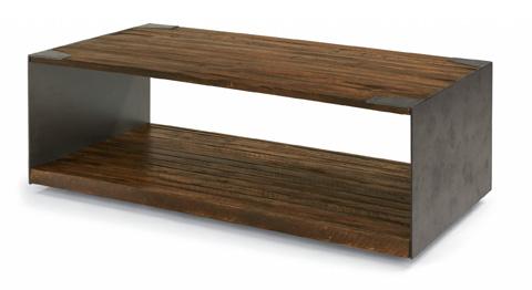 Flexsteel - Flat Iron Rectangular Cocktail Table - W1404-0311