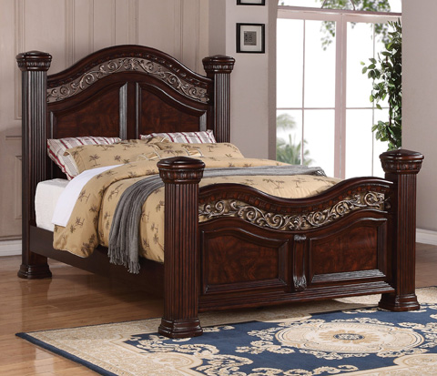 Flexsteel - Alicante Queen Mansion Bed - W1605-94Q