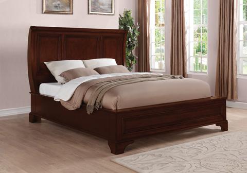 Flexsteel - Downton Queen Sleigh Bed - W1904-91Q