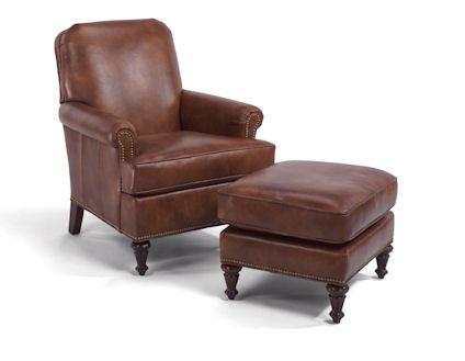 Flexsteel - Flemington Chair and Ottoman - 330C-08/330C-10