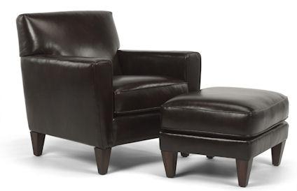 Flexsteel - Digby Chair and Ottoman - 3966-08/3966-10