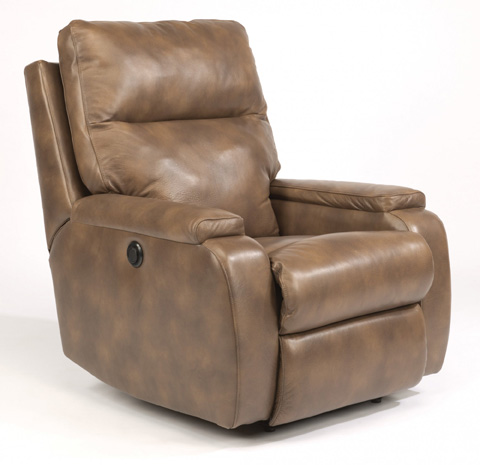 Flexsteel - Leather Power Recliner - 1228-500P