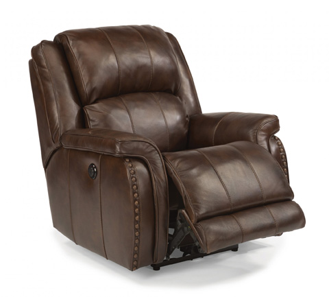 Flexsteel - Leather Power Recliner - 1244-500P