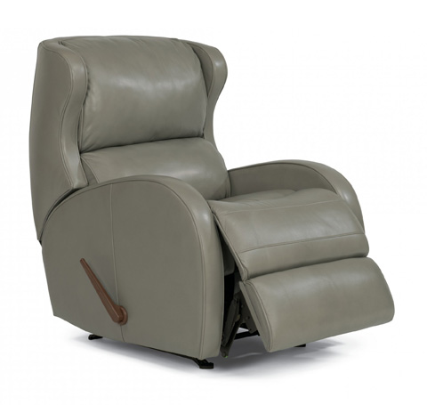 Flexsteel - Leather Rocking Recliner - 1269-510
