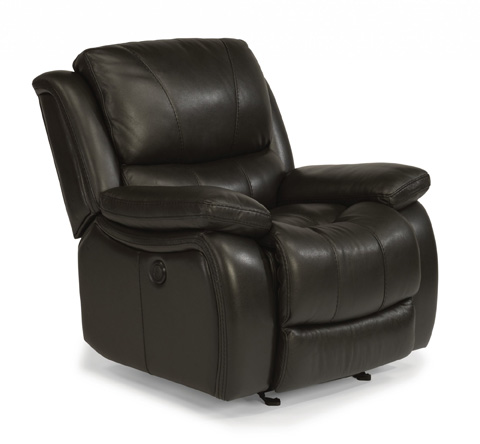 Flexsteel - Leather Power Gliding Recliner - 1343-54P