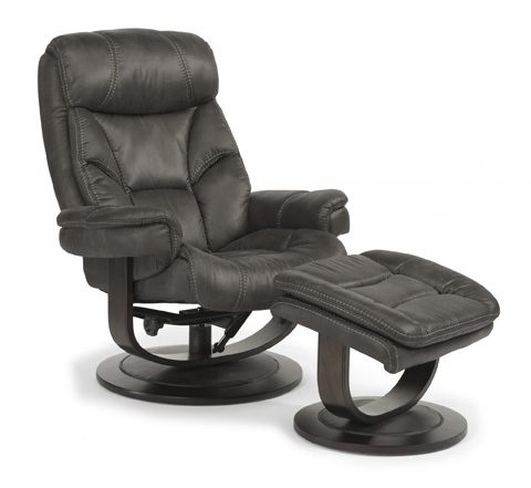 Image of Chair and Ottoman