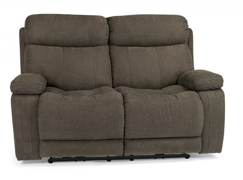 Flexsteel - Fabric Power Reclining Loveseat - 1484-60P