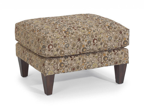 Image of Fabric Ottoman