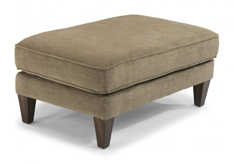Image of Fabric Cocktail Ottoman