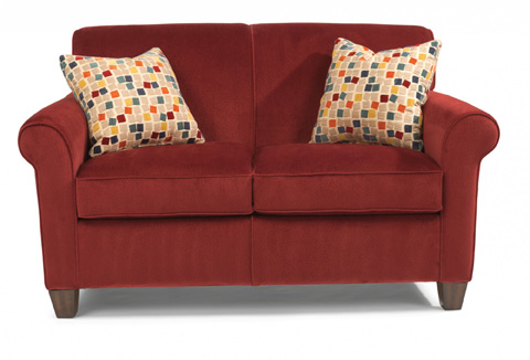 Image of Fabric Loveseat