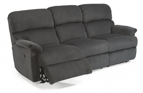 Flexsteel - Fabric Power Reclining Sofa - 7066-62M