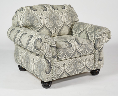 Flexsteel - One-Tone Fabric Chair without Nailhead Trim - 8646-10