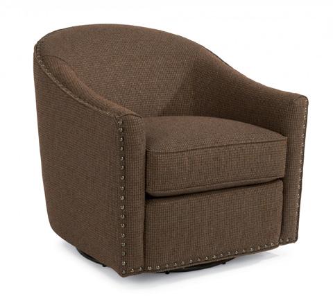 Flexsteel - Fabric Swivel Chair - 0110-11