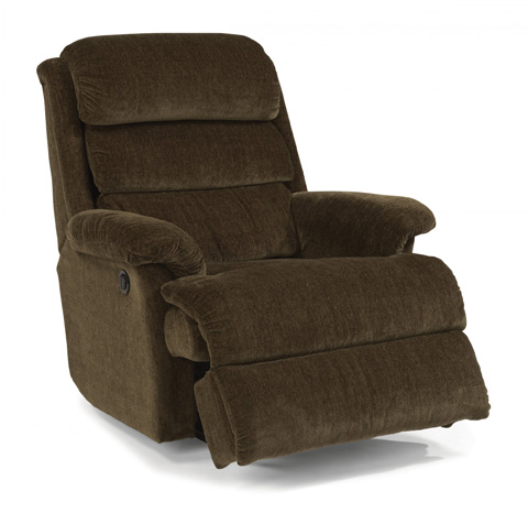 Image of Fabric Power Recliner