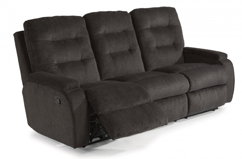 Image of Fabric Reclining Sofa