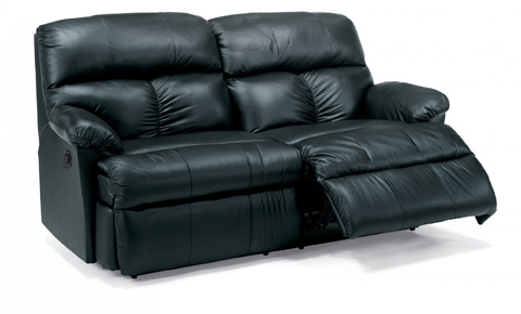 Flexsteel - Leather Power Reclining Studio Sofa - 3098-61M