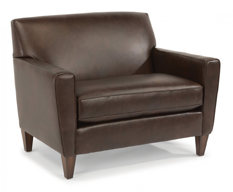 Image of Leather Chair and a Half