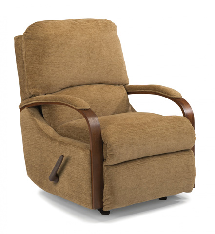 Image of Fabric Rocking Recliner