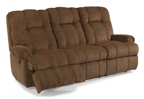 Image of Fabric Reclining Sofa