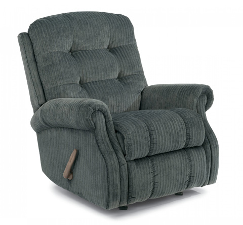 Image of Fabric Recliner without Nailhead Trim
