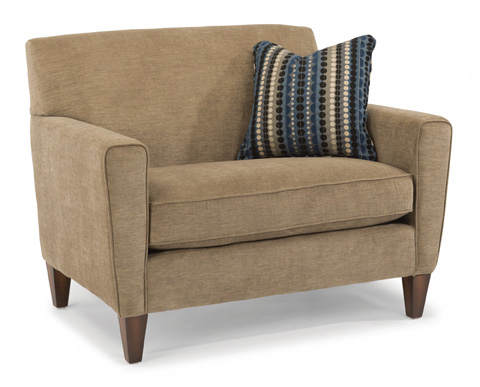 Image of Fabric Chair and a Half