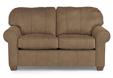 Image of NuvoLeather Loveseat