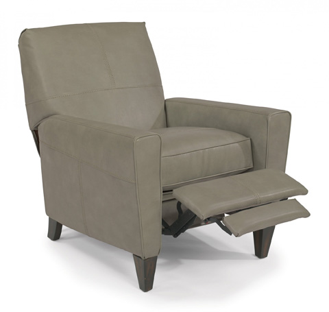 Image of NuvoLeather Power High-Leg Recliner