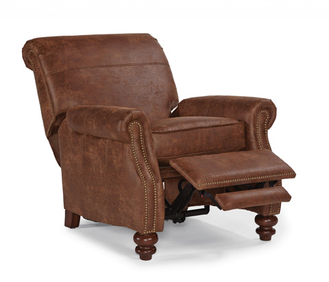 Image of NuvoLeather High-Leg Recliner