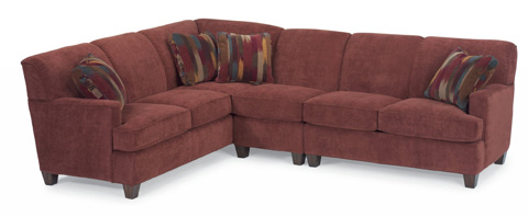 Image of Fabric Sectional