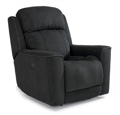 Image of Brooks Fabric Power Gliding Recliner
