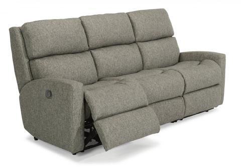 Image of Catalina Fabric Reclining Sofa