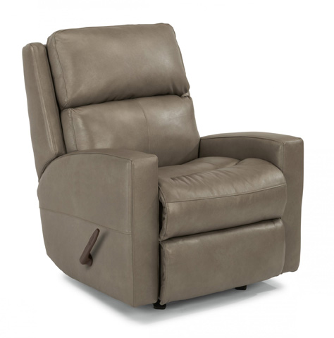 Image of Catalina Leather Rocking Recliner