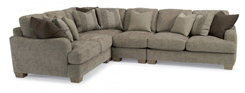Image of Vanessa Fabric Sectional