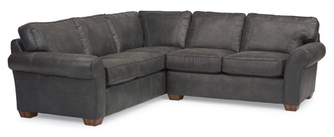 Image of Vail NuvoLeather Sectional